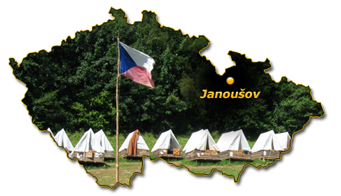mapa Janoušov